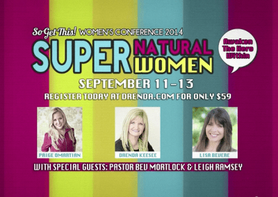 """So Get This"" – Women's Conference _ Super Heroes! ~ Christian Video Production Columbus Ohio"